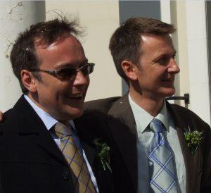 Paul and Jonathan Civil Partnership